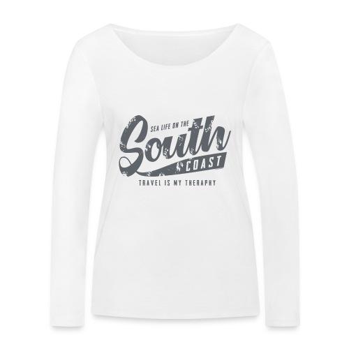 South Coast Sea surf clothes and gifts GP1305B - Stanley & Stellan naisten pitkähihainen luomupaita