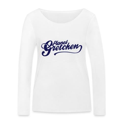 Planet Gretchen svart - Ekologisk långärmad T-shirt dam från Stanley & Stella