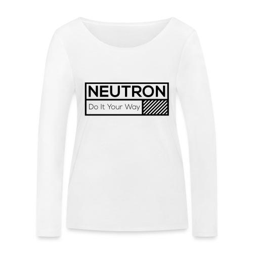 Neutron Vintage-Label - Frauen Bio-Langarmshirt von Stanley & Stella
