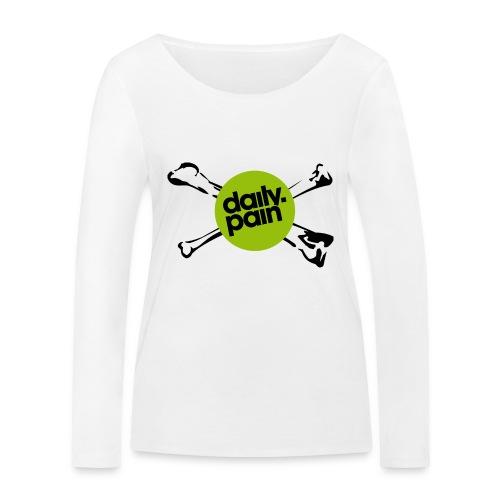 daily pain cho kark - Ekologiczna koszulka damska z długim rękawem Stanley & Stella