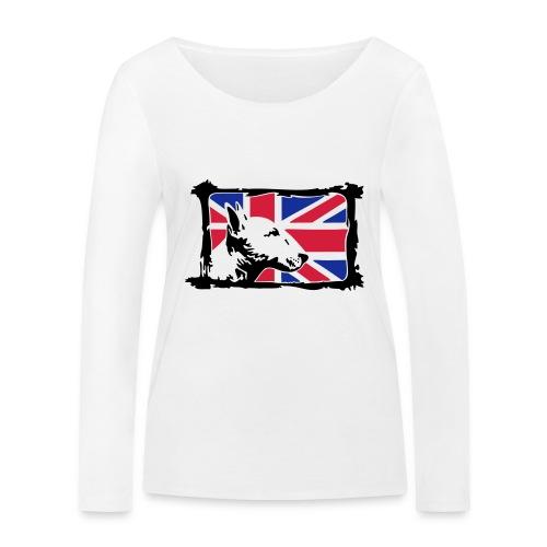 Bullterrier - Frauen Bio-Langarmshirt von Stanley & Stella
