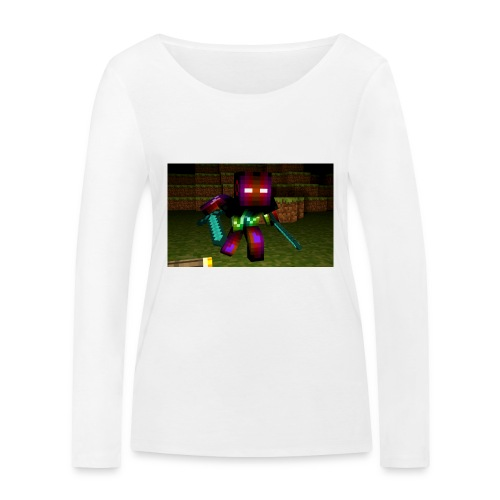 AwesomeSauce Minecraft 2 Swords - Women's Organic Longsleeve Shirt by Stanley & Stella