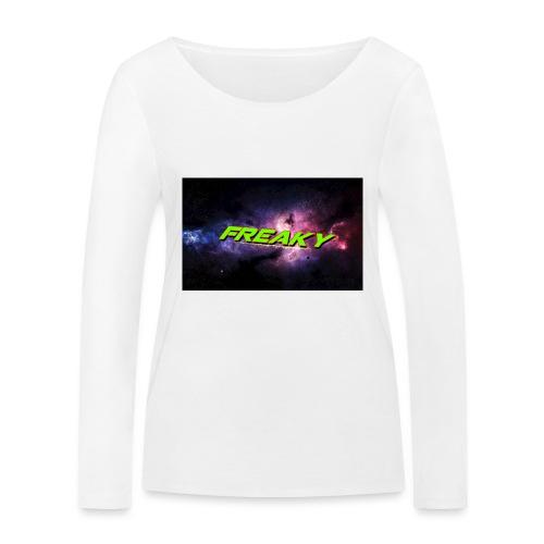 Freaky Mussemåtte - Økologisk Stanley & Stella langærmet T-shirt til damer