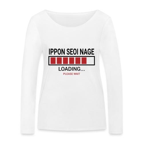 Loading... Ippon Seoi Nage - Ekologiczna koszulka damska z długim rękawem Stanley & Stella