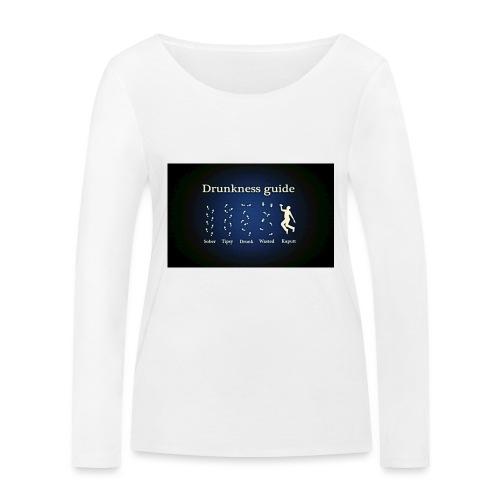 DRUNK - Vrouwen bio shirt met lange mouwen van Stanley & Stella
