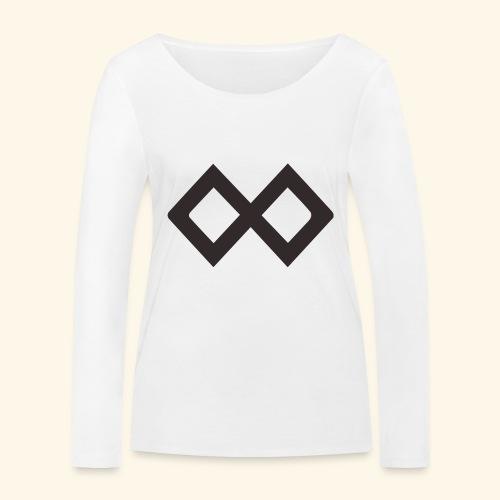 TenX Logo - Frauen Bio-Langarmshirt von Stanley & Stella