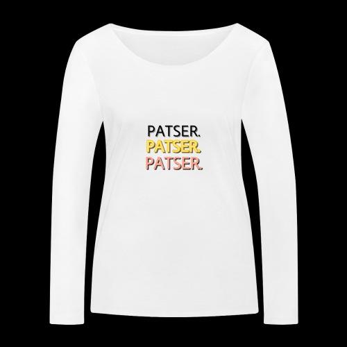 PATSER GOUD - Vrouwen bio shirt met lange mouwen van Stanley & Stella