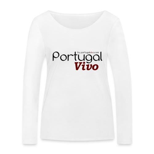 Portugal Vivo - T-shirt manches longues bio Stanley & Stella Femme