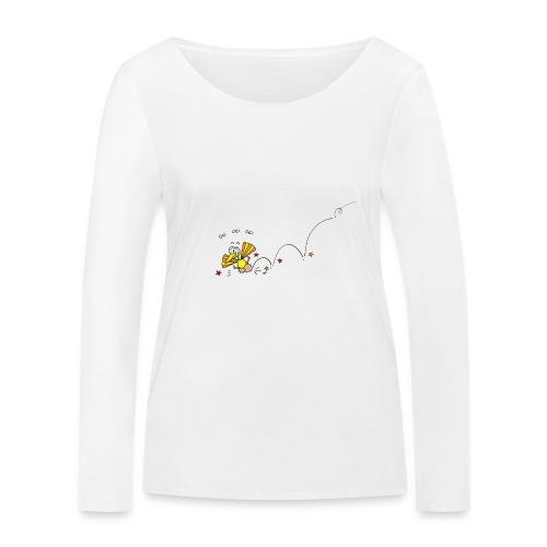 Oei Oei Vogeltje - Vrouwen bio shirt met lange mouwen van Stanley & Stella