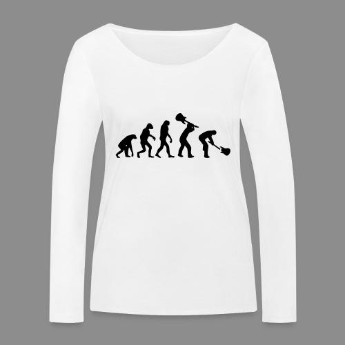 Evolution Rock - Camiseta de manga larga ecológica mujer de Stanley & Stella