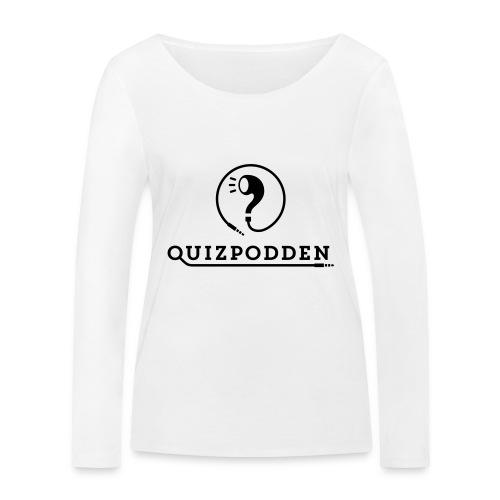 Quizpodden, T-shirt svart - Ekologisk långärmad T-shirt dam från Stanley & Stella
