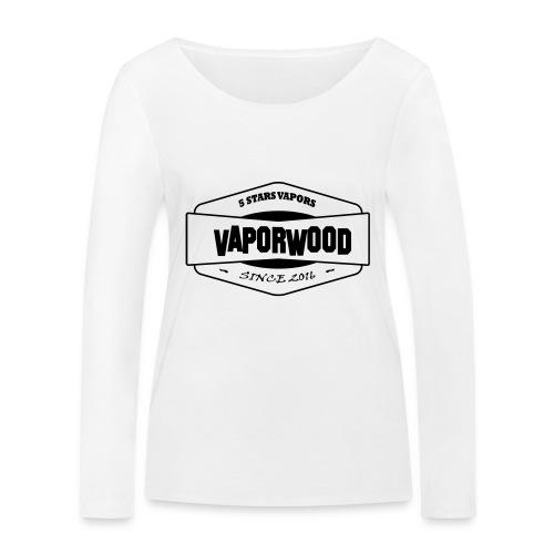 VaporwoodLogo - Frauen Bio-Langarmshirt von Stanley & Stella