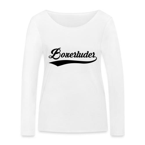 Motorrad Fahrer Shirt Boxerluder - Frauen Bio-Langarmshirt von Stanley & Stella