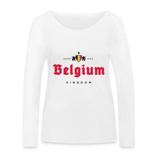 Bierre Belgique - Belgium - Belgie - T-shirt manches longues bio Stanley & Stella Femme