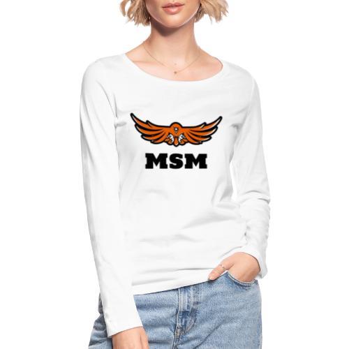 MSM EAGLE - Økologisk Stanley & Stella langærmet T-shirt til damer