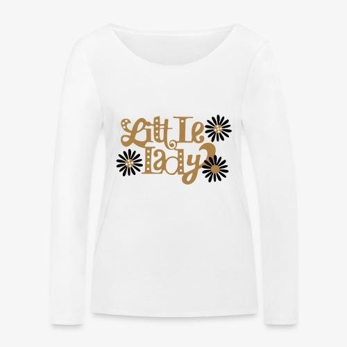 large_little-lady - T-shirt manches longues bio Stanley & Stella Femme