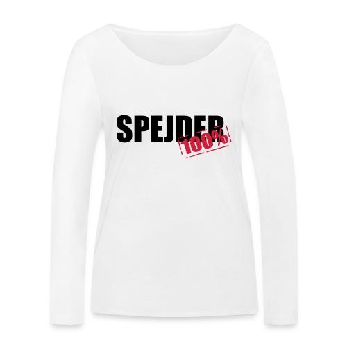 100procent spejder stempel - Økologisk Stanley & Stella langærmet T-shirt til damer