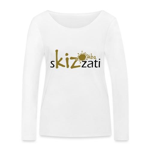 Beanie in jersey con logo sKizzati Kizomba - Verde - Maglietta a manica lunga ecologica da donna di Stanley & Stella