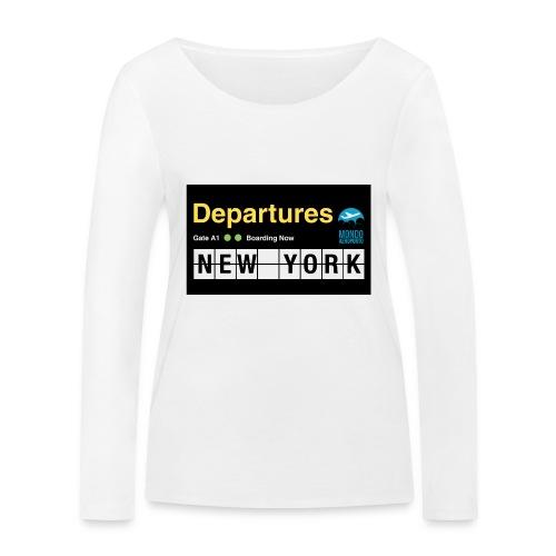 Departures Defnobarre 1 png - Maglietta a manica lunga ecologica da donna di Stanley & Stella