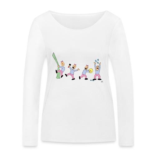 toern babybody - Økologisk langermet T-skjorte for kvinner fra Stanley & Stella