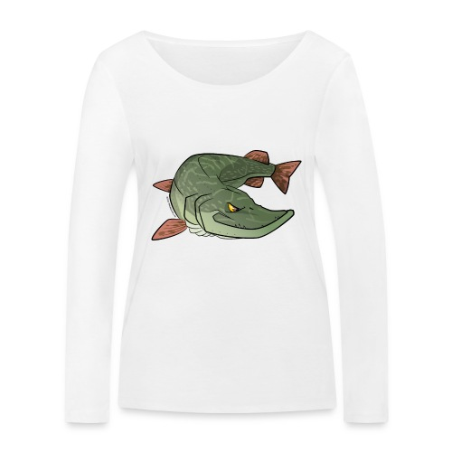 Red River: Pike - Women's Organic Longsleeve Shirt by Stanley & Stella