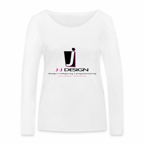 LOGO_J-J_DESIGN_FULL_for_ - Økologisk Stanley & Stella langærmet T-shirt til damer