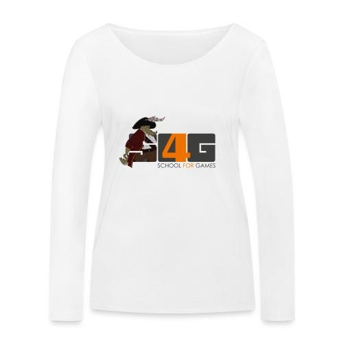 Tshirt 01 png - Frauen Bio-Langarmshirt von Stanley & Stella