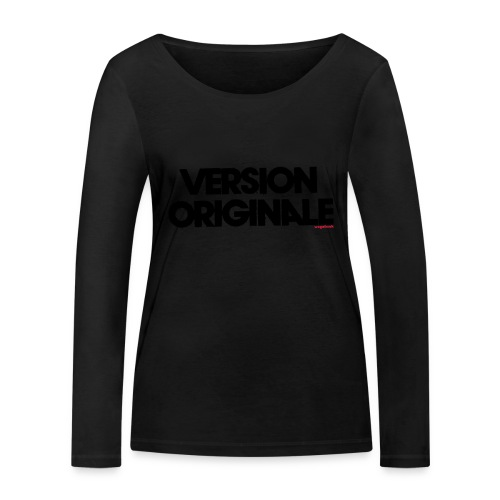 Version Original - T-shirt manches longues bio Stanley & Stella Femme