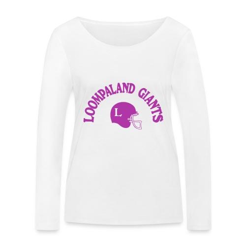 Willy Wonka heeft een team - Vrouwen bio shirt met lange mouwen van Stanley & Stella