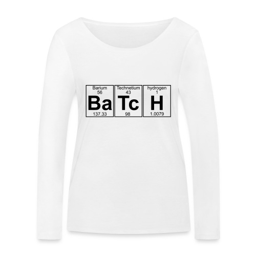 Ba-Tc-H (batch) - Full - Women's Organic Longsleeve Shirt by Stanley & Stella