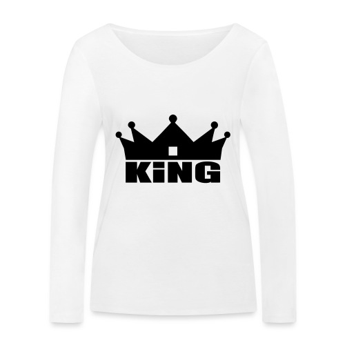 I'm the King - T-shirt manches longues bio Stanley & Stella Femme