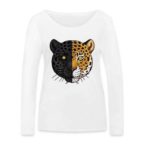 Duality: Jaguar - Ekologiczna koszulka damska z długim rękawem Stanley & Stella