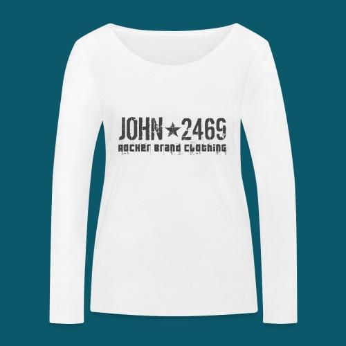 JOHN2469 prova per spread - Maglietta a manica lunga ecologica da donna di Stanley & Stella