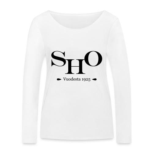 SHO - Stanley & Stellan naisten pitkähihainen luomupaita