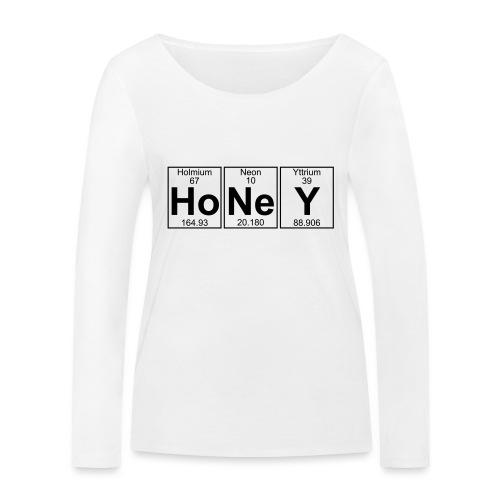 Ho-Ne-Y (honey) - Full - Women's Organic Longsleeve Shirt by Stanley & Stella