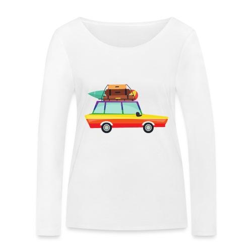 Gay Van | LGBT | Pride - Frauen Bio-Langarmshirt von Stanley & Stella