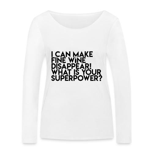 superpower - Økologisk Stanley & Stella langærmet T-shirt til damer