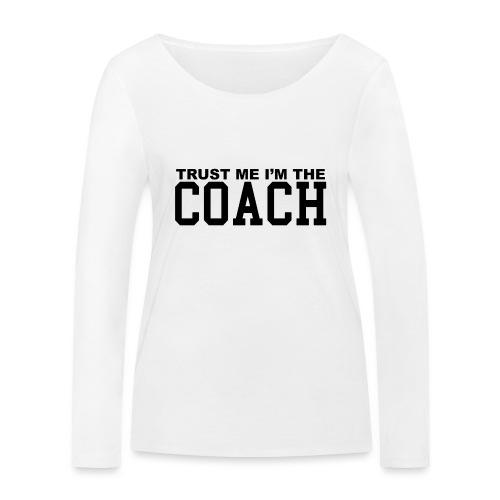 Coach - T-shirt manches longues bio Stanley & Stella Femme