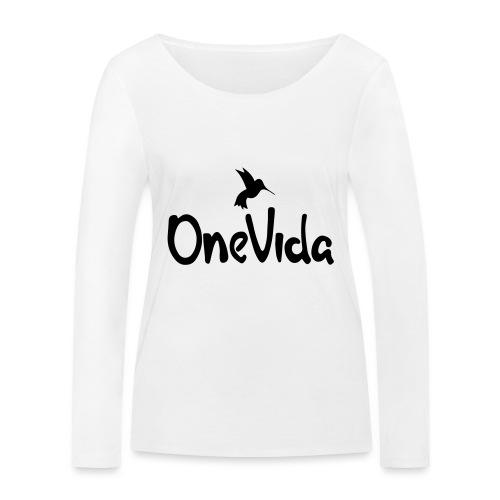 onevida - Vrouwen bio shirt met lange mouwen van Stanley & Stella