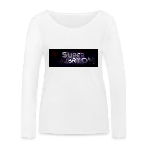 SUPERGABRY04 - Maglietta a manica lunga ecologica da donna di Stanley & Stella