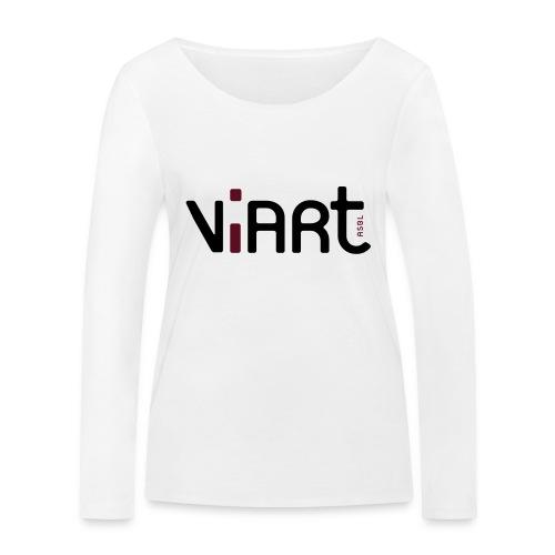 viart logo vect 2coul - Frauen Bio-Langarmshirt von Stanley & Stella