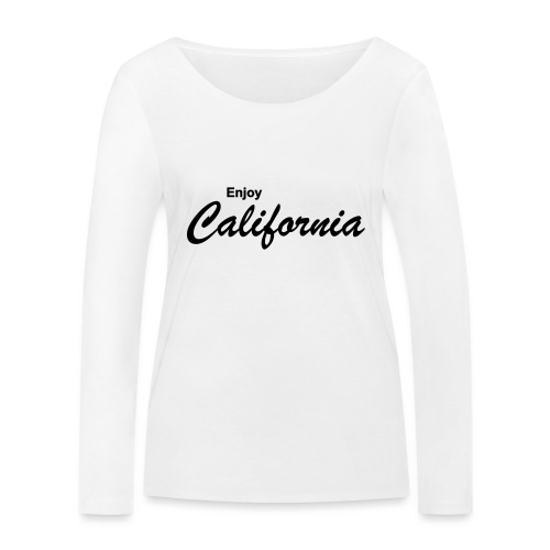 Enjoy California - Frauen Bio-Langarmshirt von Stanley & Stella