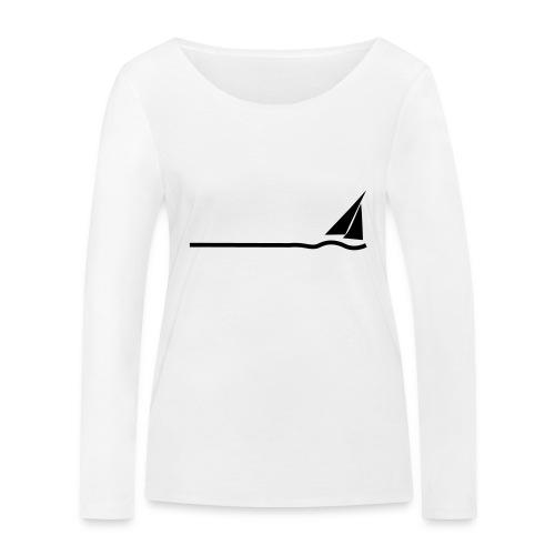 Regatta 3 (monochrom) - Frauen Bio-Langarmshirt von Stanley & Stella