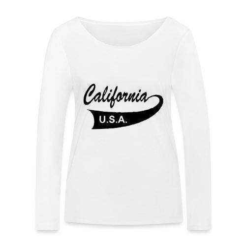 California USA - Frauen Bio-Langarmshirt von Stanley & Stella