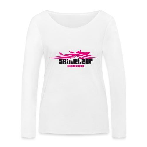 sauveteur aquatique - T-shirt manches longues bio Stanley & Stella Femme