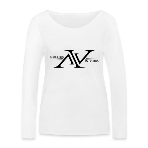 Nullius In Verba Logo - Women's Organic Longsleeve Shirt by Stanley & Stella