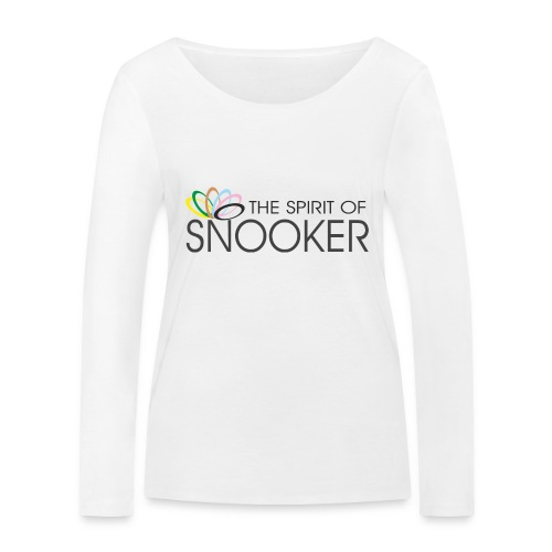 spirit of snooker - Frauen Bio-Langarmshirt von Stanley & Stella