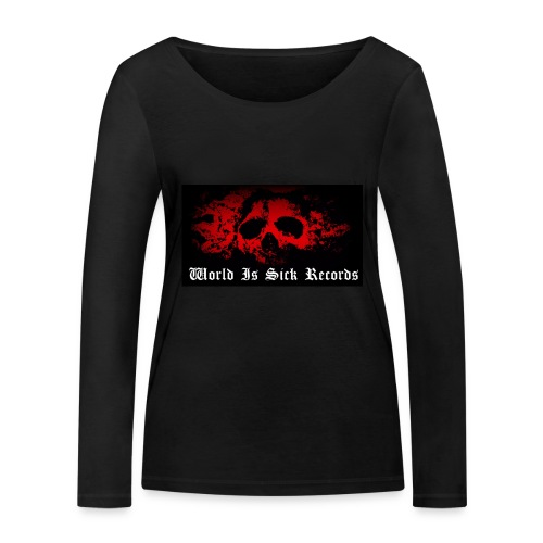 World Is Sick Skull Huppari - Stanley & Stellan naisten pitkähihainen luomupaita