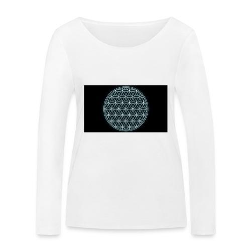 flower of life - Vrouwen bio shirt met lange mouwen van Stanley & Stella