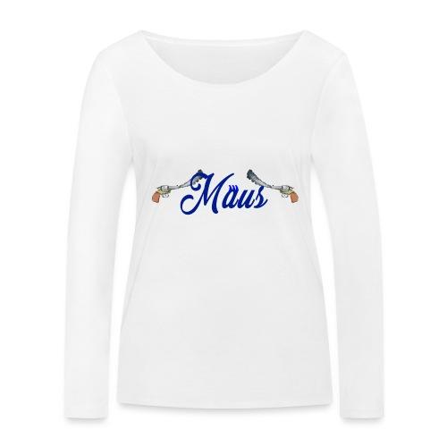 Waterpistol Sweater by MAUS - Vrouwen bio shirt met lange mouwen van Stanley & Stella